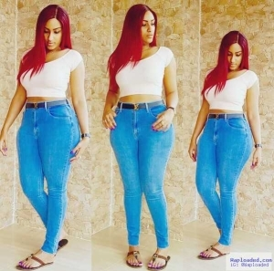 Photo: Actress Juliet Ibrahim Flaunts Curves In Skin Tight Jeans And Crop Top